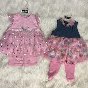 NWT Baby Girl Dresses